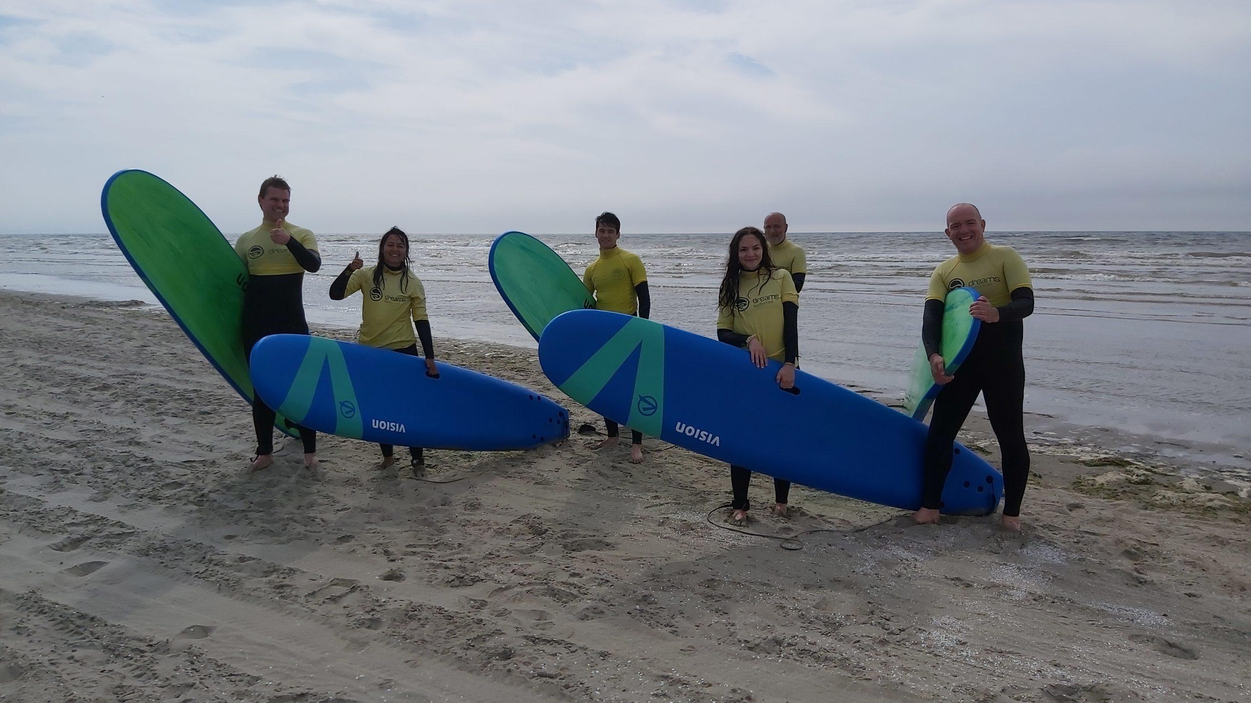 Team QAssurance gaat golfsurfen