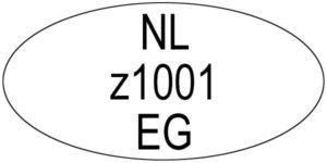 G-erkenningsnummer_wikkering