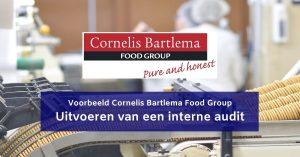 Uitvoeren interne audit voedingsbedrijf