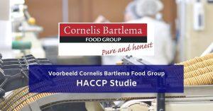 Voorbeeld HACCP STUDIE