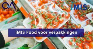 iMIS food voor verpakkingen