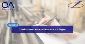 Quality assurance professional
