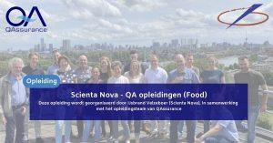 QA opleidingen (Food)