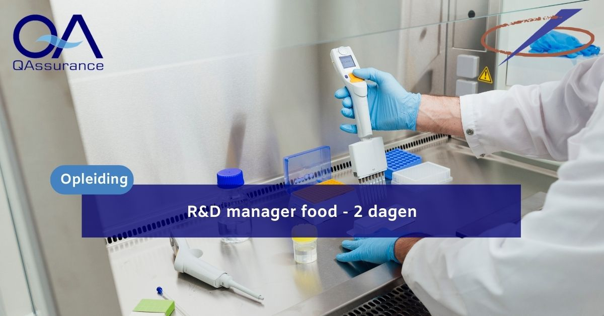 Course R&D manager food