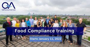 Food Compliance training january