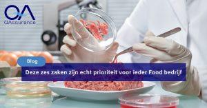 Prioriteit food bedrijf