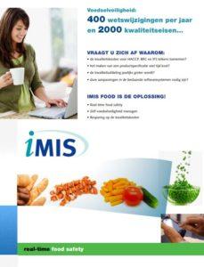 iMIS Food brochure (voorkant)