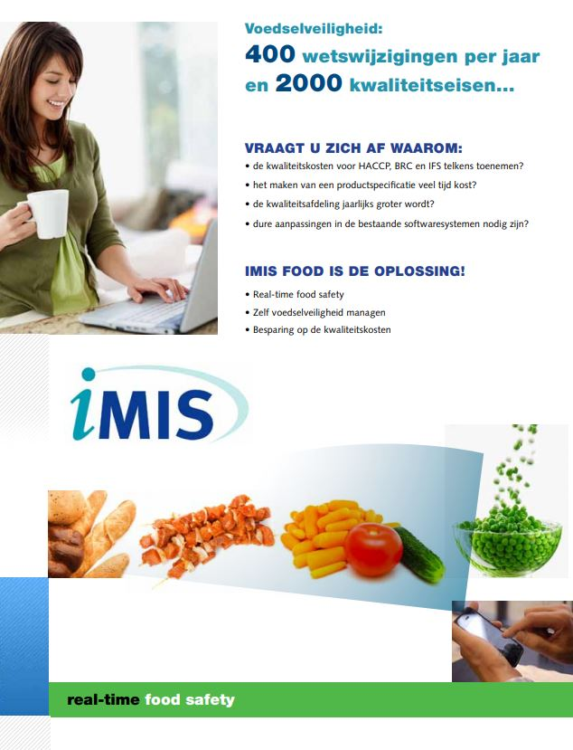 iMIS Food brochure (voorkant)