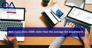 iMIS Food since 2006: older than the average QA department