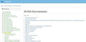 iMIS NVWA kennisbladen